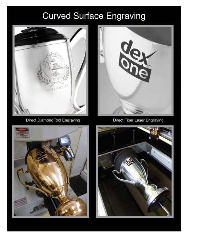 Curved Surface Engraving